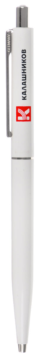 Ручка шариковая Калашников Point SenatorОТК000109Стильная и оригинальная ручка Point Senator - отличныйподарок, который обязательно понравится деловомучеловеку. Канцелярская принадлежность отличается высокимкачеством и изготовлена из прочного пластика сметаллическими вставками. Изделие имеет неповторимыйвид - простой и стильный. Преимущества товара:Ручка - прекрасный подарок для делового партнера, друга иликоллеги по работе. Point Senator выполнена в стилеминимализм и отличается простой лаконичной формой. На корпус белого цвета нанесена надпись, которая несотрется даже после длительного использования.Ручкаимеет простой механизм выдвижения и подходит длярегулярного использования. Стержень ручки сменный.Такой простой и удобный аксессуар нужно всегда иметь присебе в сумке или кармане. Ручка - незаменимая помощница,когда нужно что-то записать, заполнить важный документ илипросто поставить свою подпись. Компактная автоматическаямодель не займет много места. Легкое нажатие на кнопкупозволит извлечь стержень и незамедлительно перейти кписьму.Данная ручка упакована в индивидуальнуюпрозрачную упаковку.