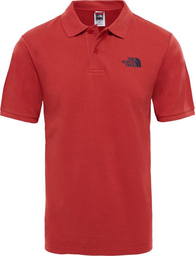 Поло мужское The North Face M Polo Piquet, цвет: красный. T0CG71ZBN. Размер L (52)T0CG71ZBNПрекрасно выглядите в стильном, мужском, классическом поло Polo Piquet. Сделано из 100% дышимого хлопка, что доставит вам массу удовольствия, как в жаркие, так и в холодные дни. Застежка на кнопках и лого The North Face logo добавят вам стиля.