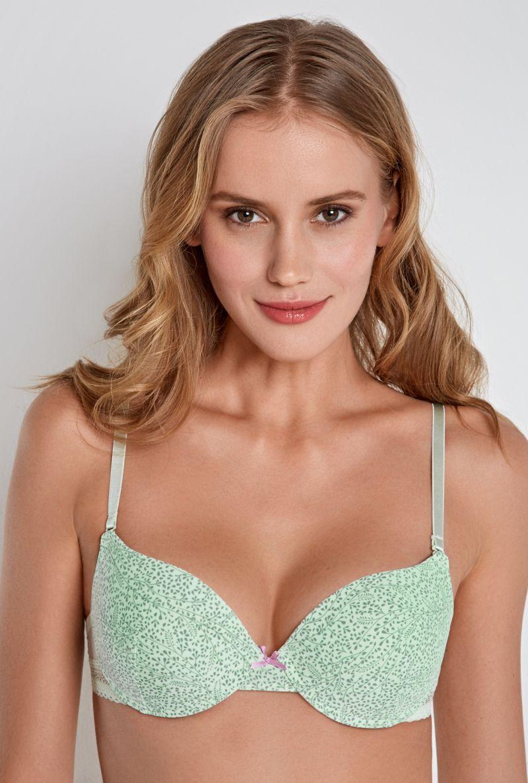 Бюстгальтер Infinity Lingerie Stefka, цвет: светло-зеленый. 31204110634_2200. Размер 85D бюстгальтер infinity lingerie stefka цвет светло зеленый 31204110634 2200 размер 85d