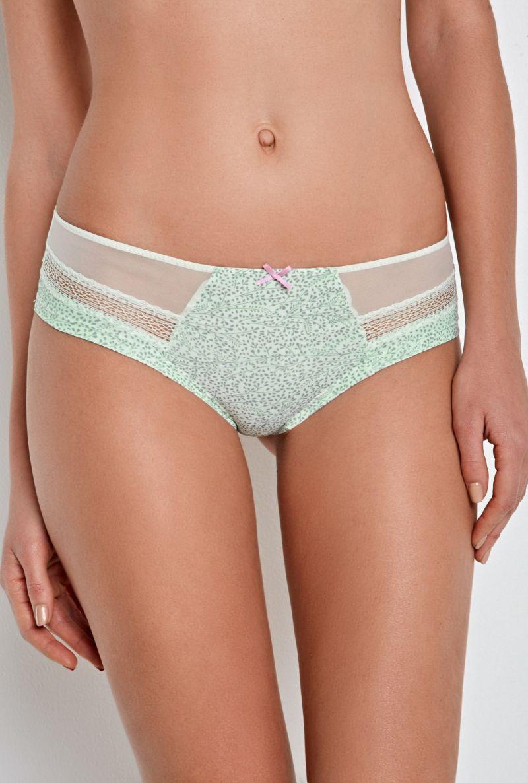 Трусы-шортики женские Infinity Lingerie Stefka, цвет: светло-зеленый. 31204121188_2200. Размер S (44)31204121188_2200