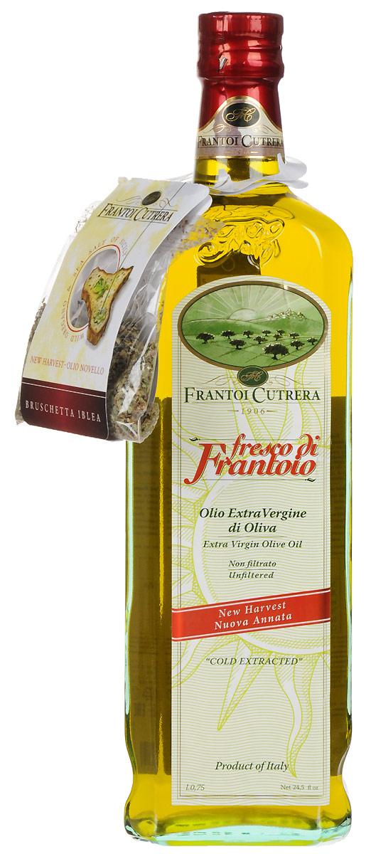 Frantoi Cutrera Оливковое масло нерафинированное Extra virgin, 750 мл minerva extra virgin оливковое масло 750 мл