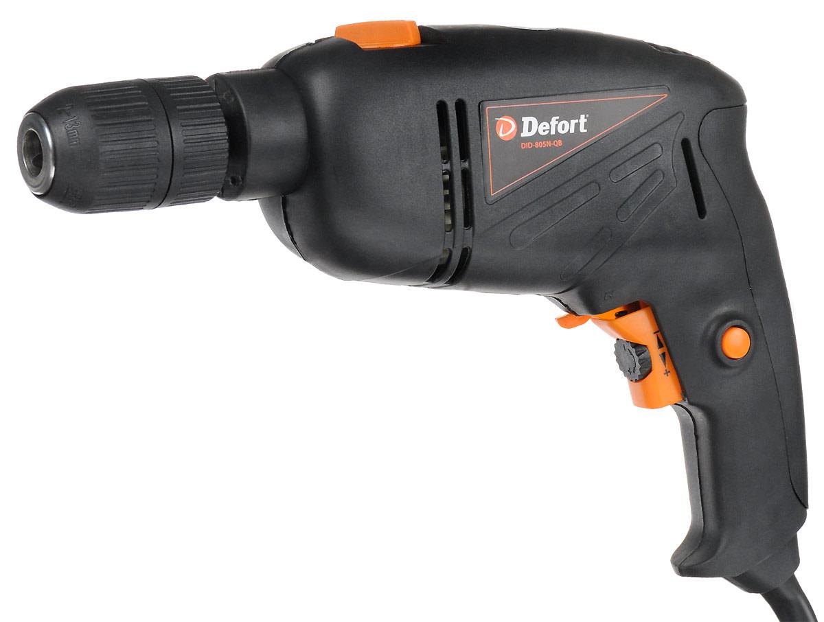цена на Дрель ударная Defort DID-805N-QB
