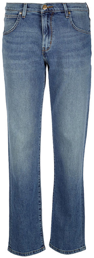Джинсы мужские Wrangler Arizona, цвет: синий. W12O23185. Размер 32-34 (48-34)W12O23185