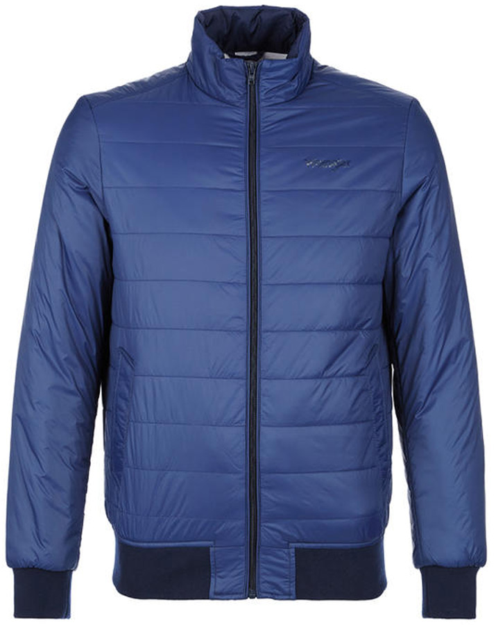Куртка мужская Wrangler, цвет: синий. W4705X449. Размер XXL (54)