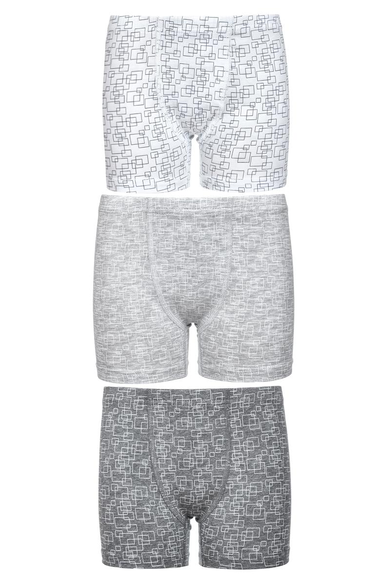 Трусы-шорты для мальчика Baykar, цвет: мультиколор, 3 шт. N3182_22. Размер 134/140N3182_22