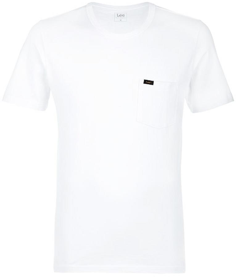 Футболка мужская Lee, цвет: белый. L61IRE12. Размер L (50)L61IRE12