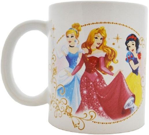 """Детская кружка Disney """"Принцесса Ключи от королевства"""" станет отличным подарком для вашего ребенка. Она выполнена из керамики и оформлена изображением из диснеевских мультфильмов. Кружка дополнена удобной ручкой. Такой подарок станет не только приятным, но и практичным сувениром: кружка будет незаменимым атрибутом чаепития, а оригинальное оформление кружки добавит ярких эмоций и хорошего настроения."""