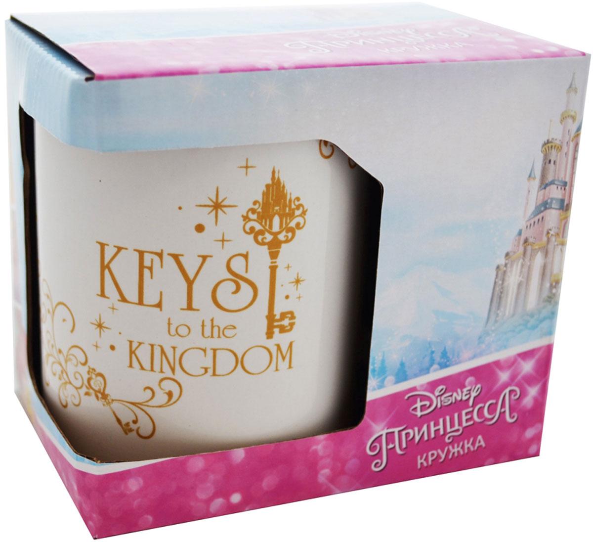 """Детская кружка Disney """"Принцесса Ключи от королевства"""" станет отличным подарком для вашего ребенка. Такой подарок станет не только приятным, но и практичным сувениром: кружка будет незаменимым атрибутом чаепития, а оригинальное оформление кружки добавит ярких эмоций и хорошего настроения."""