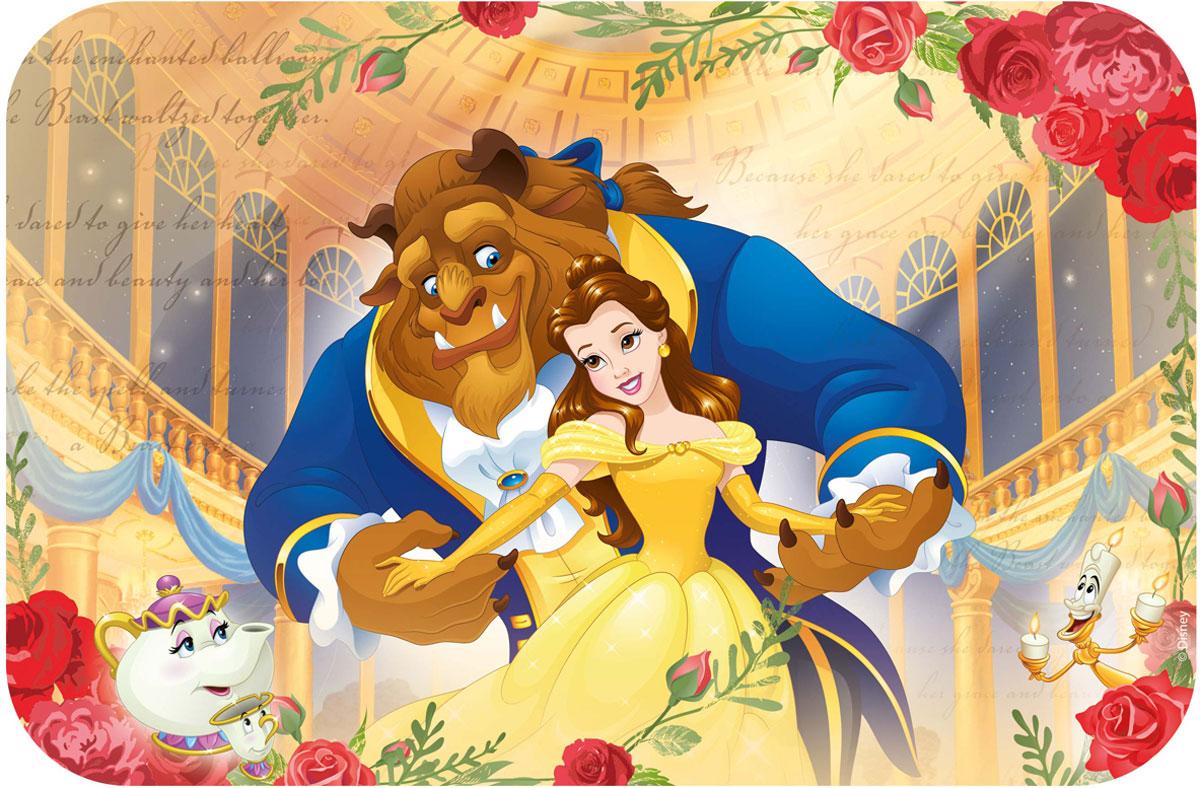 Disney Салфетка под горячее Принцессы Красавица и Чудовище disney прописи для девочек принцессы