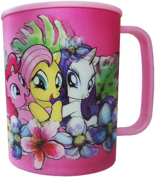 Hasbro Кружка детская My Little Pony 325 млMLPM325-1Высокое качество и яркий дизайн детской кружки Hasbro My Little Pony оценят и дети и взрослые.