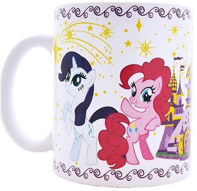 """Высокое качество и яркий дизайн детской кружки Hasbro """"My Little Pony"""" оценят и дети и взрослые."""