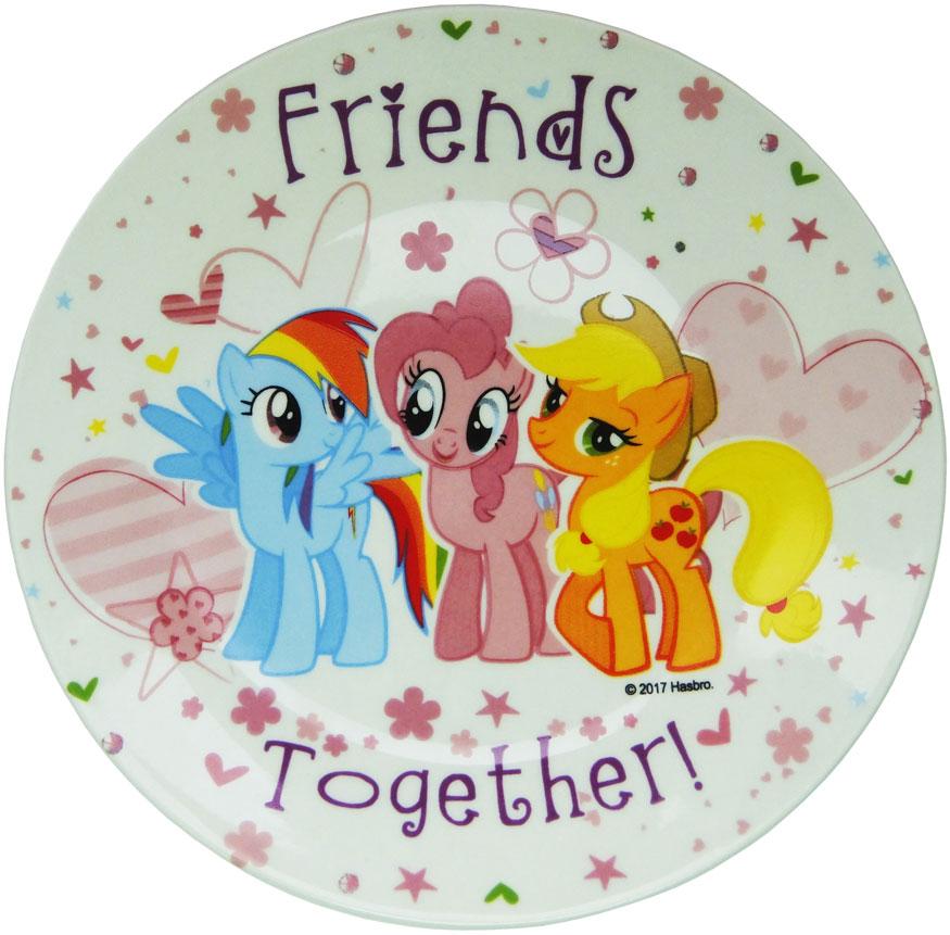Hasbro Тарелка детская My Little Pony диаметр 19 смMLPP190-1