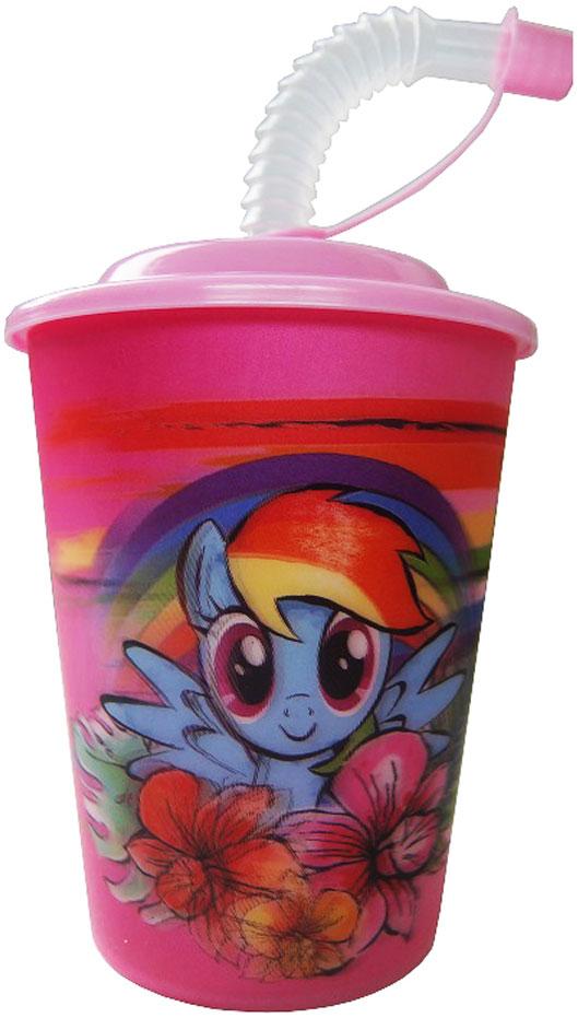 """Высокое качество и яркий дизайн детского стакана Hasbro """"My Little Pony"""" оценят и дети и взрослые."""