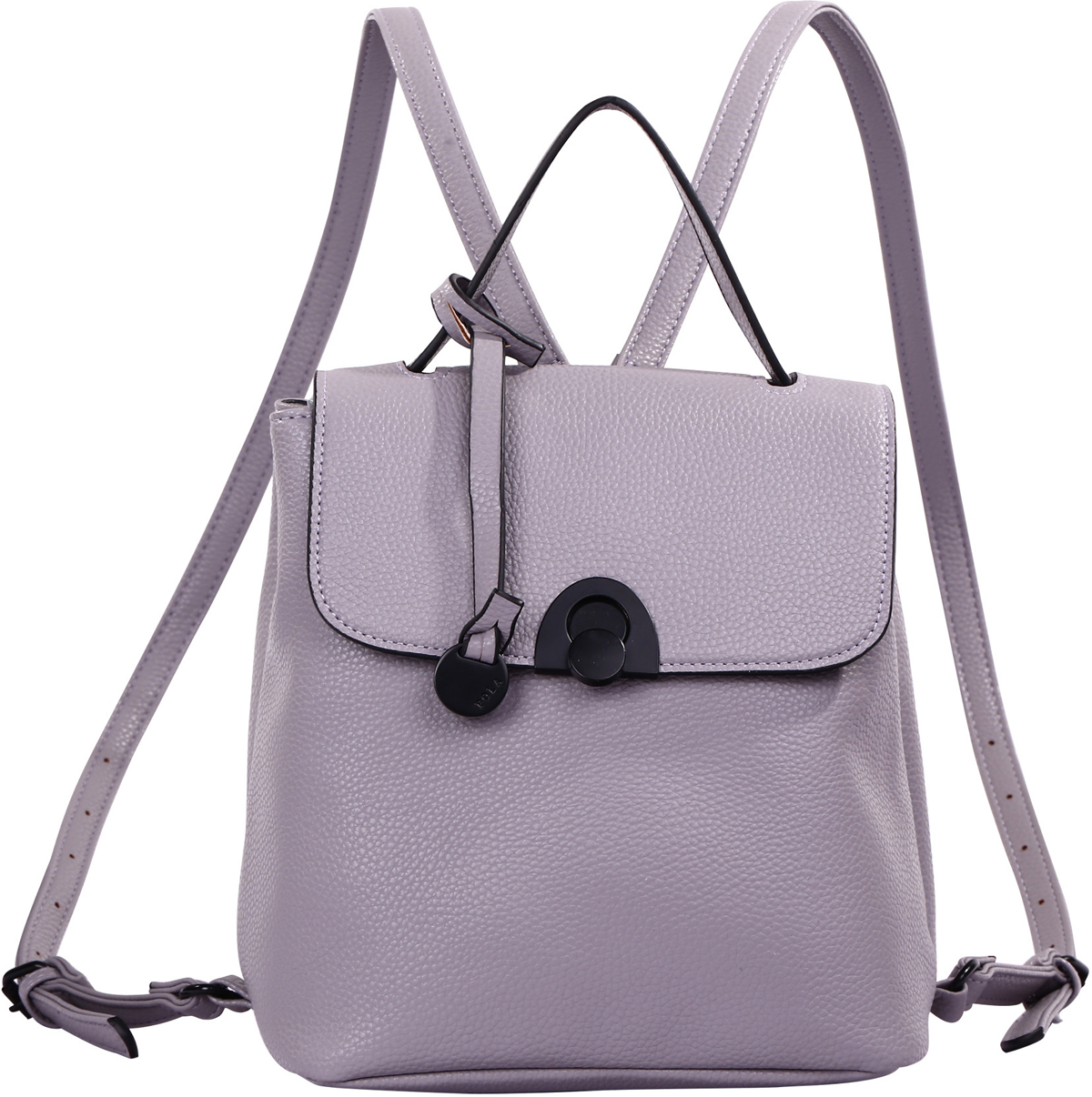 Рюкзак женский Pola, цвет: серый, голубой. 74514