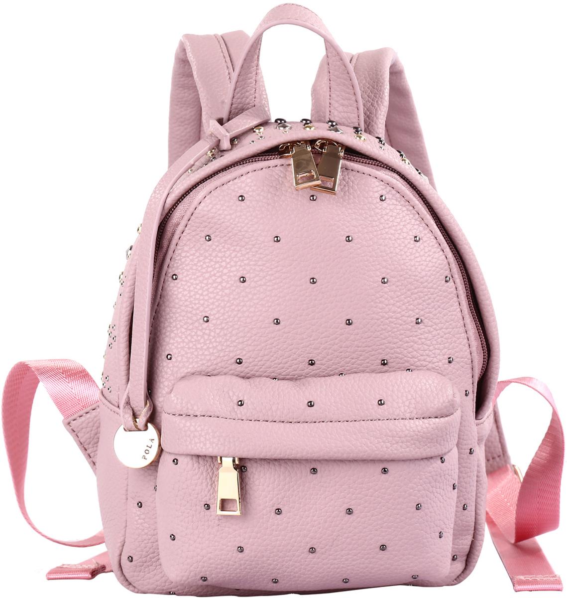 Рюкзак женский Pola, цвет: розовый. 74521