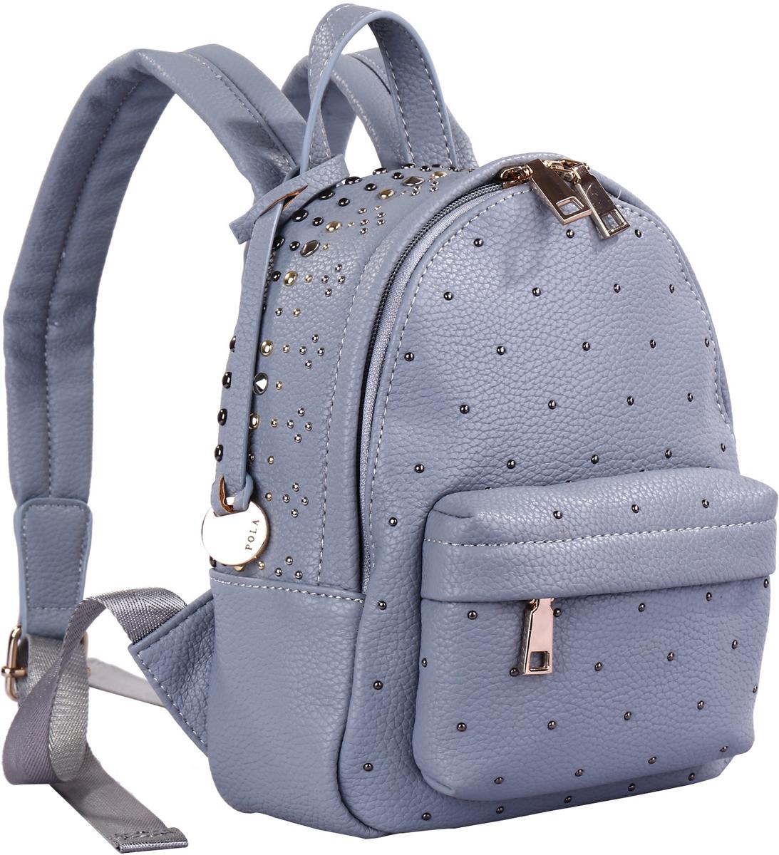 Рюкзак женский Pola, цвет: светло-голубой. 74521