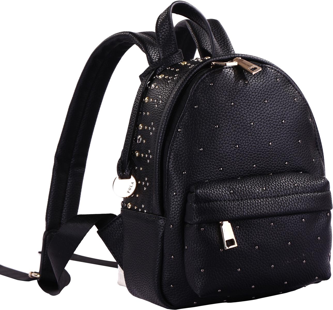 Рюкзак женский Pola, цвет: черный. 74521