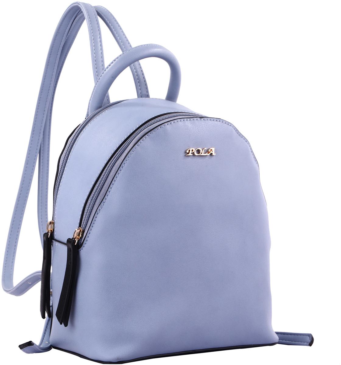 Рюкзак женский Pola, цвет: светло-голубой. 74525