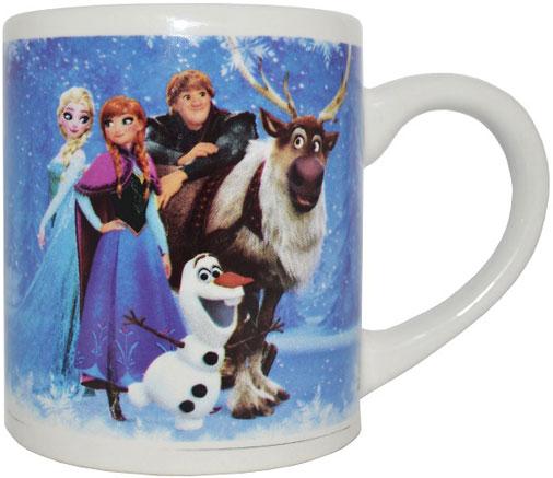 Disney Кружка детская Холодное сердце Всегда вместе 240 млDFM240-4Детская кружка Disney Холодное сердце Всегда вместе станет отличным подарком для вашего ребенка. Она выполнена из керамики и оформлена изображением из диснеевских мультфильмов. Кружка дополнена удобной ручкой. Такой подарок станет не только приятным, но и практичным сувениром: кружка будет незаменимым атрибутом чаепития, а оригинальное оформление кружки добавит ярких эмоций и хорошего настроения.