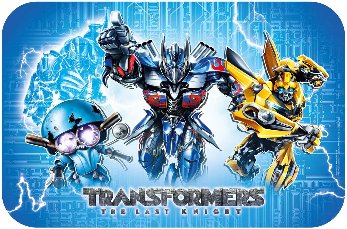 """Салфетка под горячее Hasbro """"Transformers Последний рыцарь"""" не только украсит  стол, но и защитит его от различных повреждений.Она выполнена из  высококачественного полипропилена. Салфетку можно использовать как  под посуду, так и просто для украшения интерьера."""