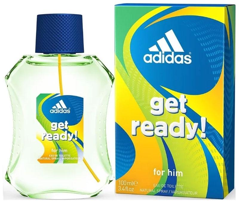 Adidas Туалетная вода Get Ready!, мужская, 100 мл