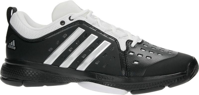 Кроссовки для тенниса мужские Adidas Barricade Classic B, цвет: черный. CG3108. Размер 11,5 (45)CG3108В этих мужских теннисных кроссовках будет удобно играть на любом типе корта благодаря амортизации BOUNCE™. Дышащая сетка BARRICADE обеспечивает баланс вентиляции и поддержки стопы, а вставка ADITUFF™ в районе мыска улучшает устойчивость во время резких движений.Технология BOUNCE™ оптимизирует амортизацию, заряжая каждый шаг дополнительной энергиейДышащий сетчатый верх BARRICADE с синтетическими вставками для поддержки стопыИзносостойкая вставка ADITUFF™ в области пальцев и с внутренней стороны мыска защищает стопу от подворачивания во время резких боковых движенийПерфорация для более эффективной вентиляцииTORSION® SYSTEM для поддержки средней части стопыИсключительно износостойкая подошва ADIWEAR™, подходящая для любого типа кортов