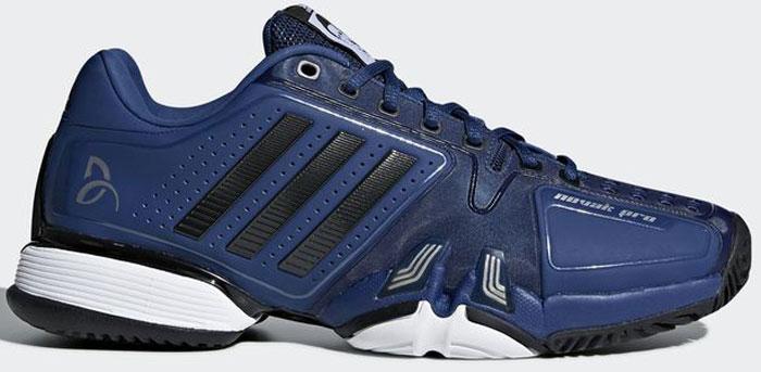 Кроссовки для тенниса мужские Adidas Novak Pro, цвет: синий. CM7771. Размер 11,5 (45)