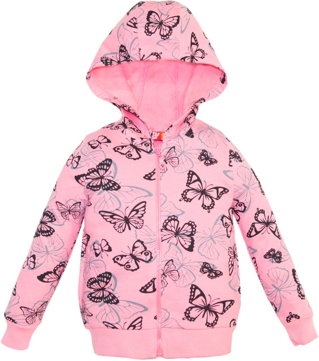 Джемпер для девочки Lets Go, цвет: нежно-розовый. 6157. Размер 746157