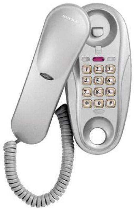 Supra STL-112, White телефон supra stl 120