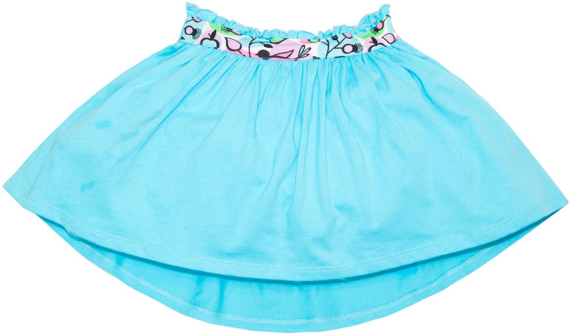 Юбка для девочки Lets Go, цвет: голубой. 8133. Размер 988133