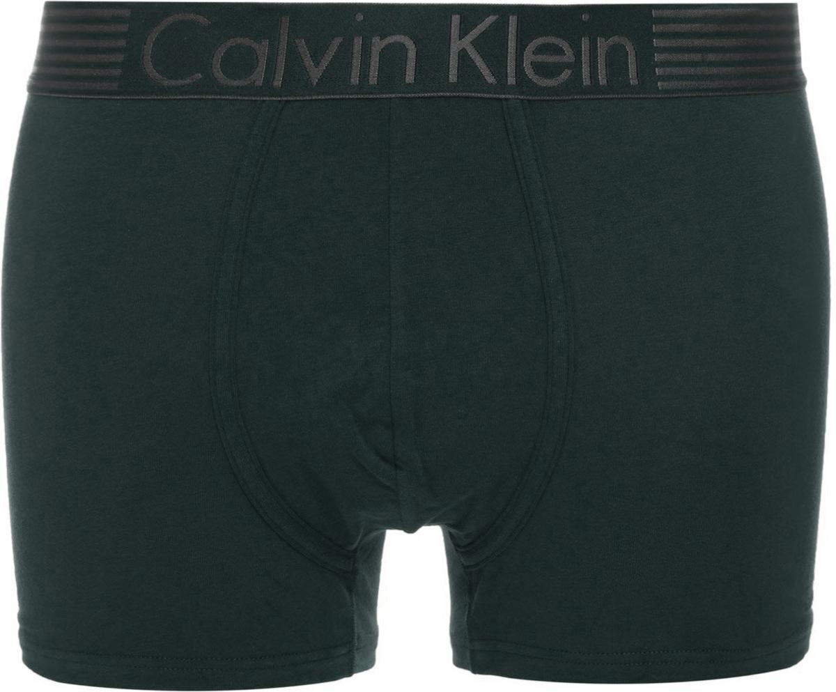 Трусы мужские Calvin Klein Underwear, цвет: темно-зеленый. NB1017A_KNG. Размер XL (52)