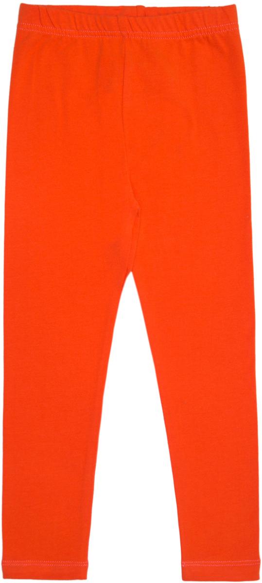 Леггинсы для девочки Lets Go, цвет: оранжевый. 10181. Размер 10410181