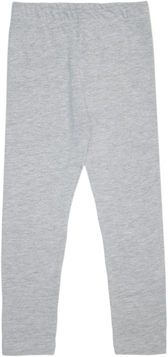 Леггинсы для девочки Lets Go, цвет: серый меланж. 10181. Размер 11610181