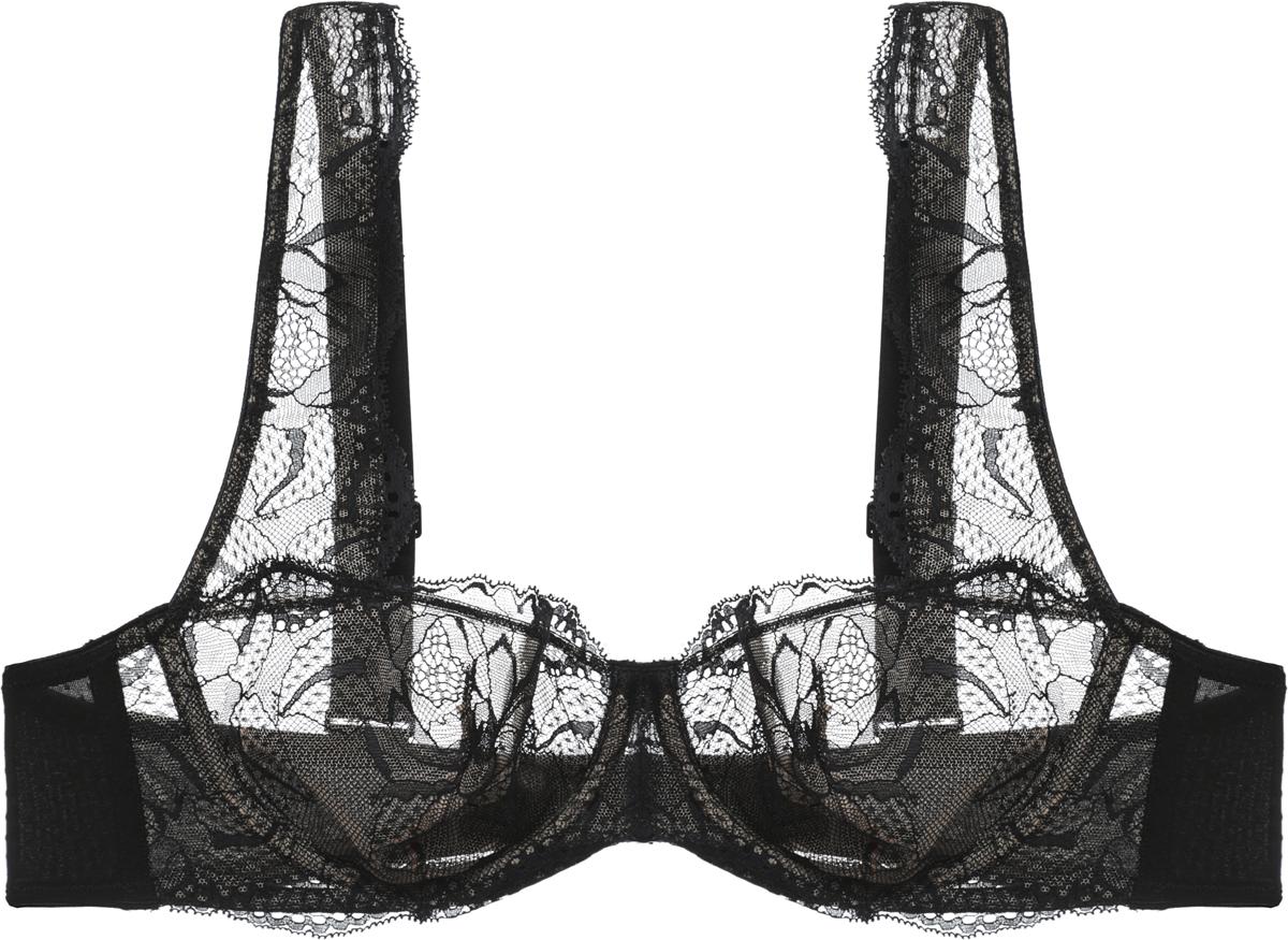 Купить Бюстгальтер Calvin Klein Underwear, цвет: черный. QF4293E_001. Размер 32B (70В)