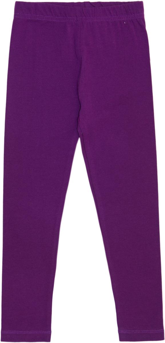 Леггинсы для девочки Let's Go, цвет: фиолетовый. 10181. Размер 140, Одежда для девочек  - купить со скидкой