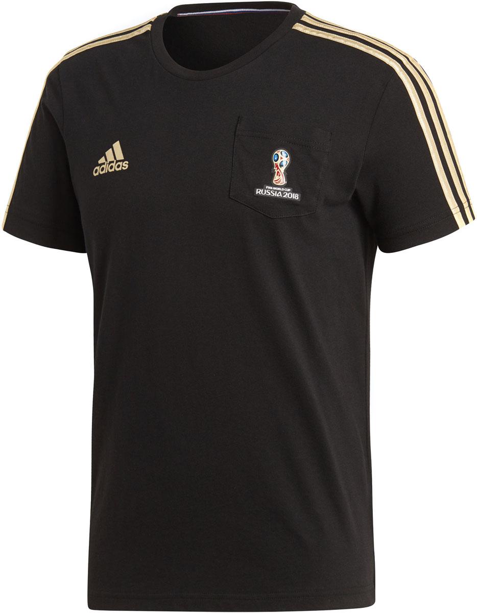 Футболка мужская Adidas Oe Tee, цвет: черный. CF1748. Размер M (48/50)