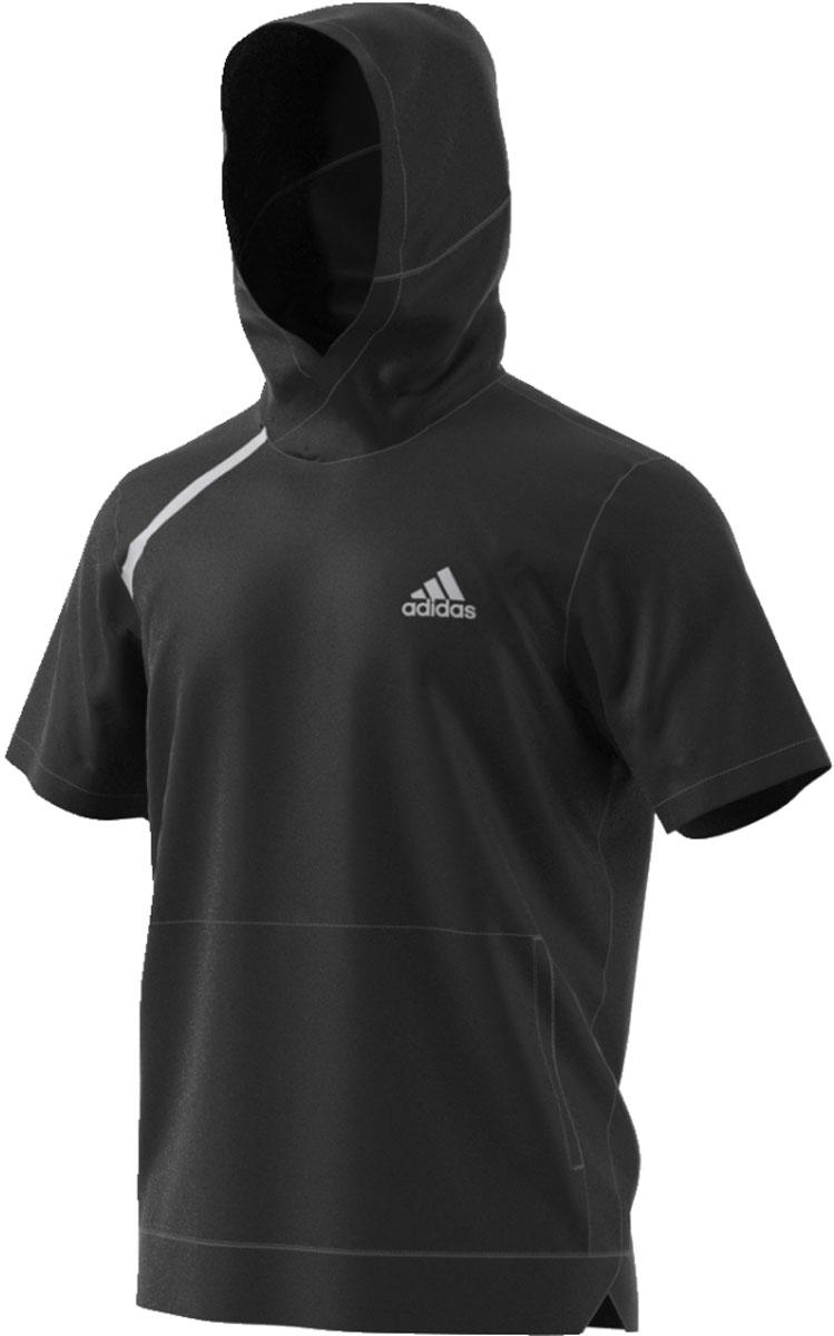 Купить Худи мужское Adidas Sport Shooter, цвет: черный. CE6919. Размер M (48/50)