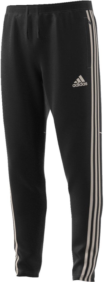 Брюки мужские Adidas Tan Tr Pnt, цвет: черный. CD8314. Размер XXL (60/62)CD8314Мужские спортивные брюки от Adidas с сетчатыми панелями предназначены для тренировок в теплую погоду. Облегающий крой и рифленые вставки на икрах обеспечивают надежную посадку во время маневров. Технология Climacool помогает сохранить прохладу и комфорт даже в жаркую погоду. Брюки имеют эластичный пояс на регулируемых завязках-шнурках и дополнены боковыми карманами. Модель оформлена ярлычком Tango сзади под поясом и логотипом бренда на ноге.