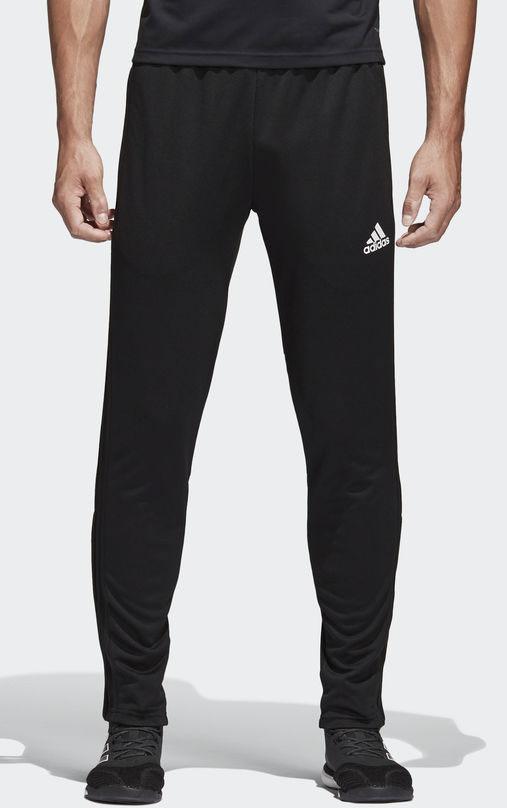Брюки мужские Adidas Con18 Tr Pnt, цвет: черный. BS0526. Размер L (52/54)BS0526Два боковых кармана с застежками-молниямиЭластичная талия с шнурком для регулировкиВ нижней части ноги есть короткая застежка-молнияСделано в технологии Climacool, обеспечивающей отвод лишней влаги наружу