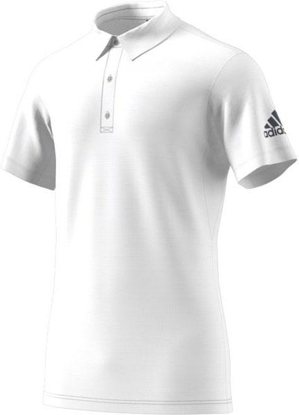 Поло мужское Adidas Climachill Polo, цвет: белый. CD3200. Размер XL (56/58)CD3200Классическое поло с фирменным логотипом Адидас