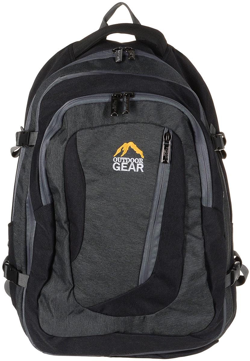 Рюкзак городской Outdoor Gear, цвет: черный, серый. 2111 рюкзак conway kangwei 2011 621042