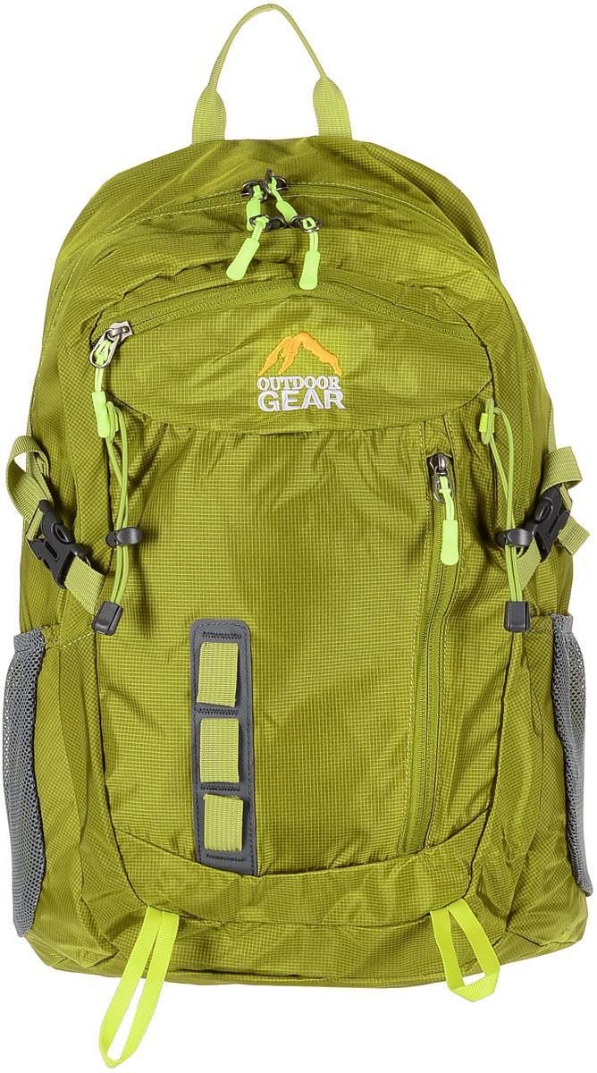 Рюкзак городской Outdoor Gear, цвет: зеленый. 2211 ostin рюкзак с двумя карманами