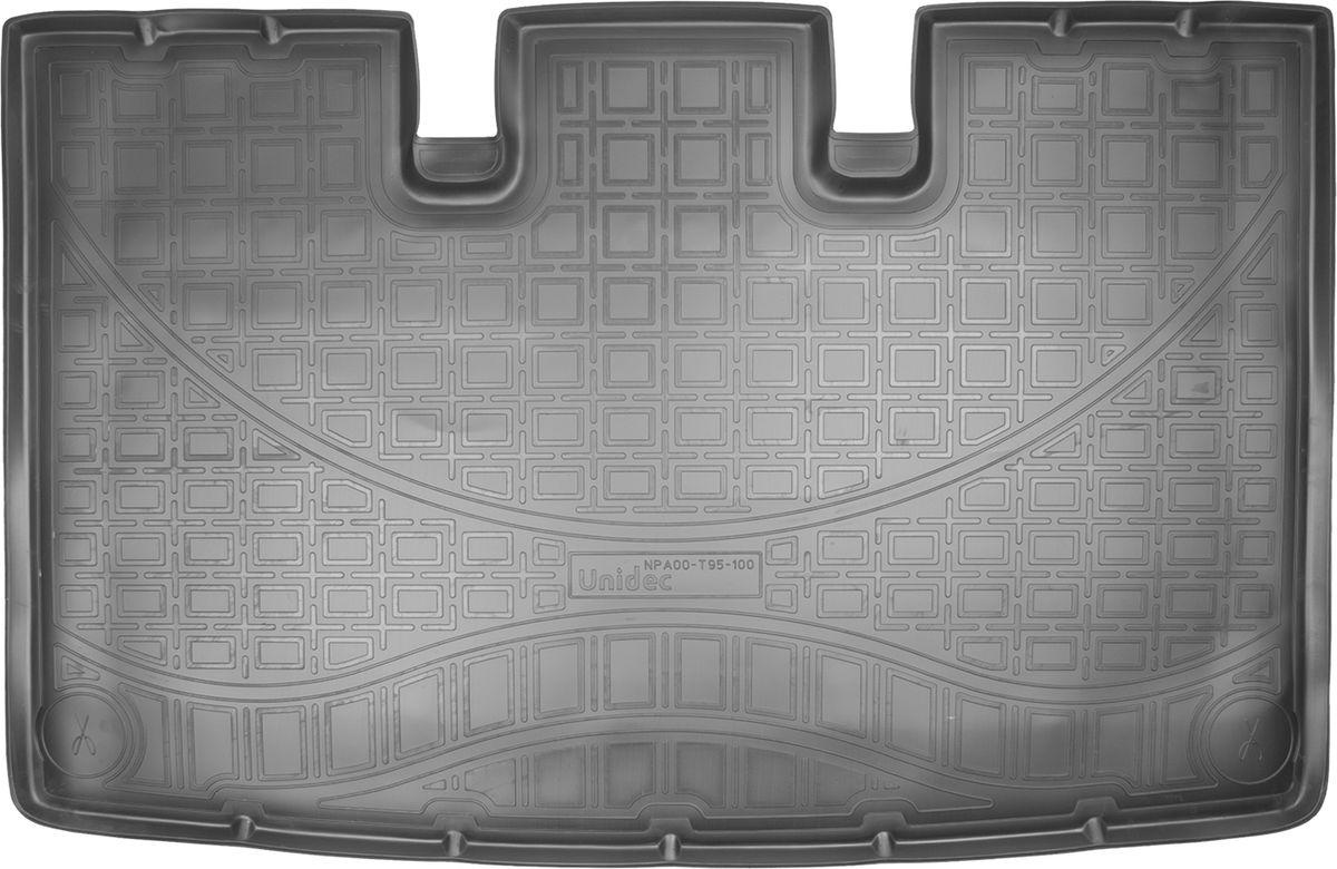 Купить Ковер автомобильный NorPlast , для Volkswagen Caravelle (Т6), 2015->, в багажник