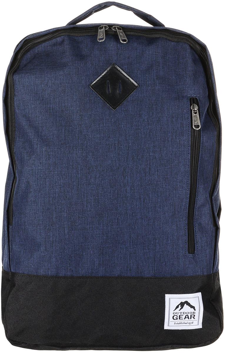 Рюкзак городской Outdoor Gear, цвет: синий, черный. 8125 рюкзак conway kangwei 2011 621042