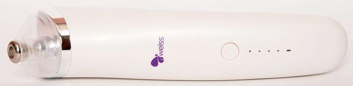 Welss Вакуумный очиститель кожи лица welss ws1003 сыворотка для лица секреты улитки 15 мл