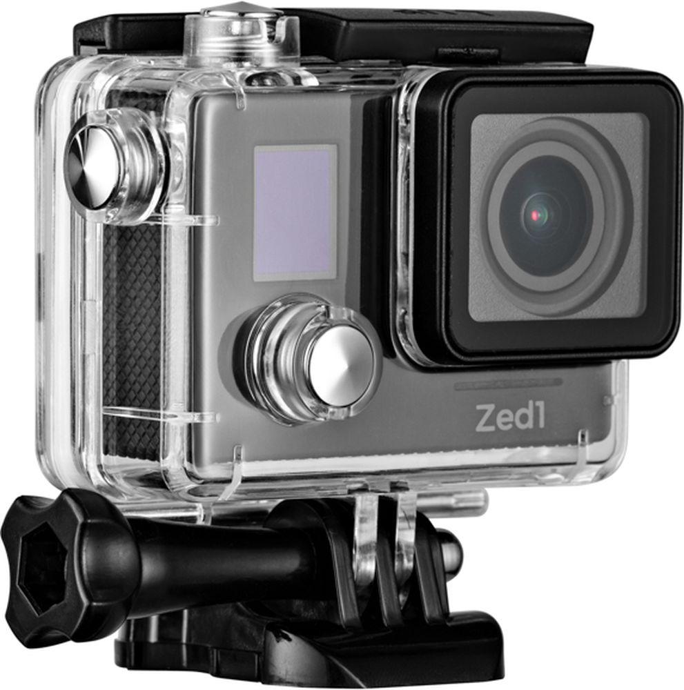 AC-Robin ZED1, Black экшн-камераАК-00000750Компактная, мощная и функциональная экшн-камера AC-Robin ZED1. Позволяет записывать двухчасовой захватывающий фильм в экшн-формате. Обеспечивает высококачественный результат при максимуме драйва и минимуме усилий.Аппаратно-программный комплекс гиростабилизации ITG-1010A позволяет делать качественные фото даже на высоких скоростяхв условиях неравномерного движения и нелинейных ускорений.Камера AC Robin ZED1 позволяет снимать видео в самом высоком качестве нон-стоп на протяжении двух часов! Аккумулятор высокой эффективности емкостью 1600 мАч – это беспрерывная съемка целостногофильма.Матрица Sony Exmor-R CMOS имеет высокое разрешение и позволяет проводить видеосъемку в максимальном качестве, при этом достигая яркого и высококонтрастного изображения с минимальным уровнем шума. Благодаря своему строению, матрица Exmor-R CMOS имеет высокую светочувствительность, значительно превосходя аналоги по качеству съемки.Всё программное обеспечение камеры на русском языке – вы быстро найдете общий язык с AC Robin ZED1 и легко сможете управлять ею. Как выбрать экшн-камеру. Статья OZON Гид