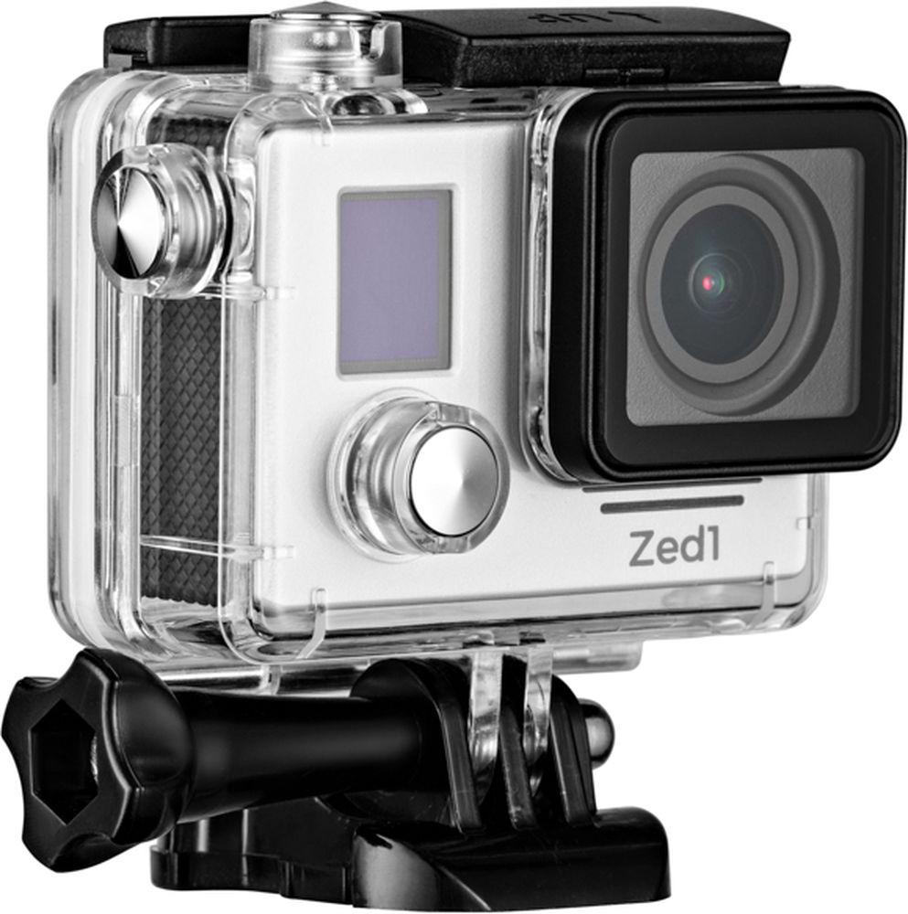 AC-Robin ZED1, Silver экшн-камераАК-00000751Компактная, мощная и функциональная экшн-камера AC-Robin ZED1. Позволяет записывать двухчасовой захватывающий фильм в экшн-формате. Обеспечивает высококачественный результат при максимуме драйва и минимуме усилий.Аппаратно-программный комплекс гиростабилизации ITG-1010A позволяет делать качественные фото даже на высоких скоростяхв условиях неравномерного движения и нелинейных ускорений.Камера AC Robin ZED1 позволяет снимать видео в самом высоком качестве нон-стоп на протяжении двух часов! Аккумулятор высокой эффективности емкостью 1600 мАч - это беспрерывная съемка целостногофильма.Матрица Sony Exmor-R CMOS имеет высокое разрешение и позволяет проводить видеосъемку в максимальном качестве, при этом достигая яркого и высококонтрастного изображения с минимальным уровнем шума. Благодаря своему строению, матрица Exmor-R CMOS имеет высокую светочувствительность, значительно превосходя аналоги по качеству съемки.Всё программное обеспечение камеры на русском языке - вы быстро найдете общий язык с AC Robin ZED1 и легко сможете управлять ею. Как выбрать экшн-камеру. Статья OZON Гид