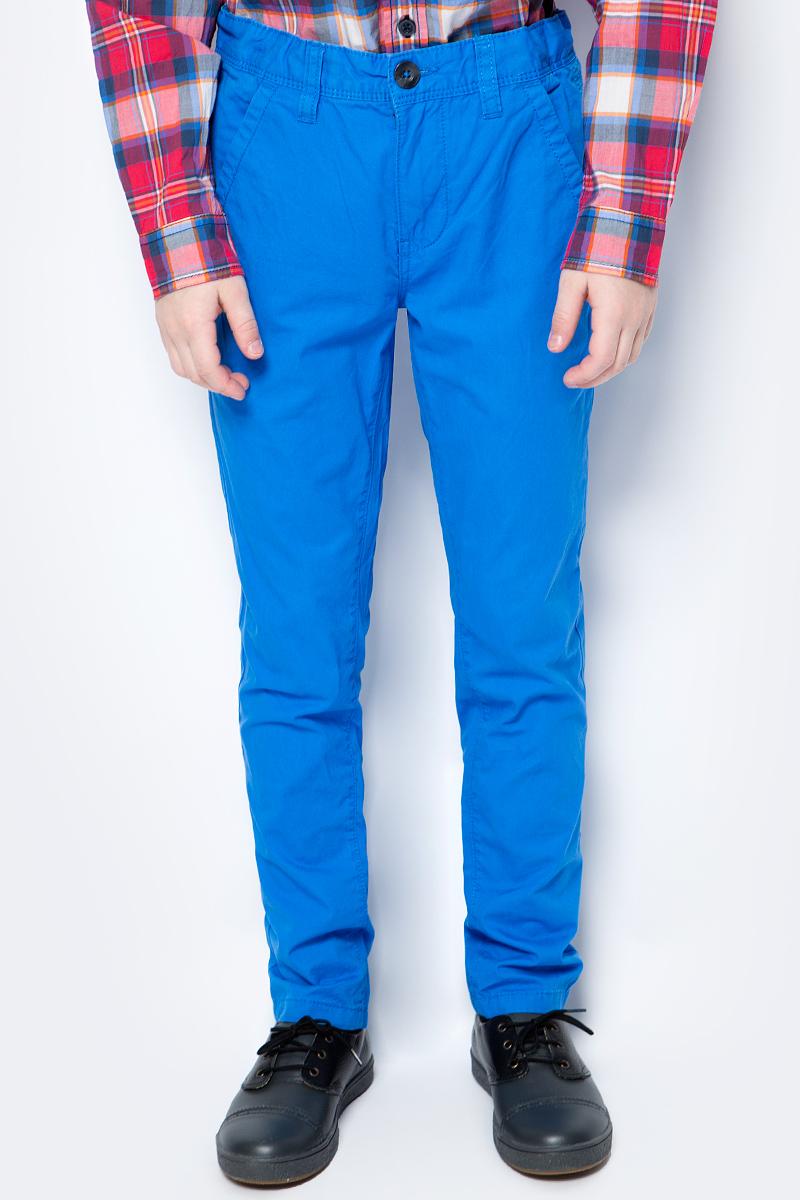 Брюки для мальчиков United Colors of Benetton, цвет: синий. 4LT3555F0_0M8. Размер 1204LT3555F0_0M8
