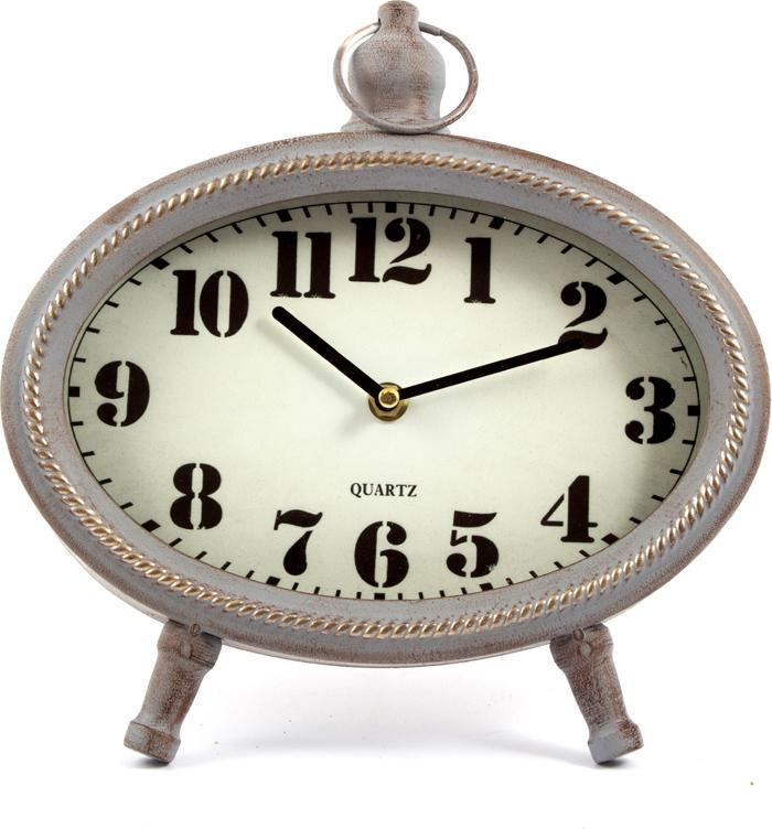 Часы настольные, цвет: белый, 26 х 8 х 27 см . 2964929649Часы, будь то настольные или настенные, служат не только стильным декором помещения, а так же добавляют уюта в дом или офис. Невозможно представить ни один интерьер без часов.