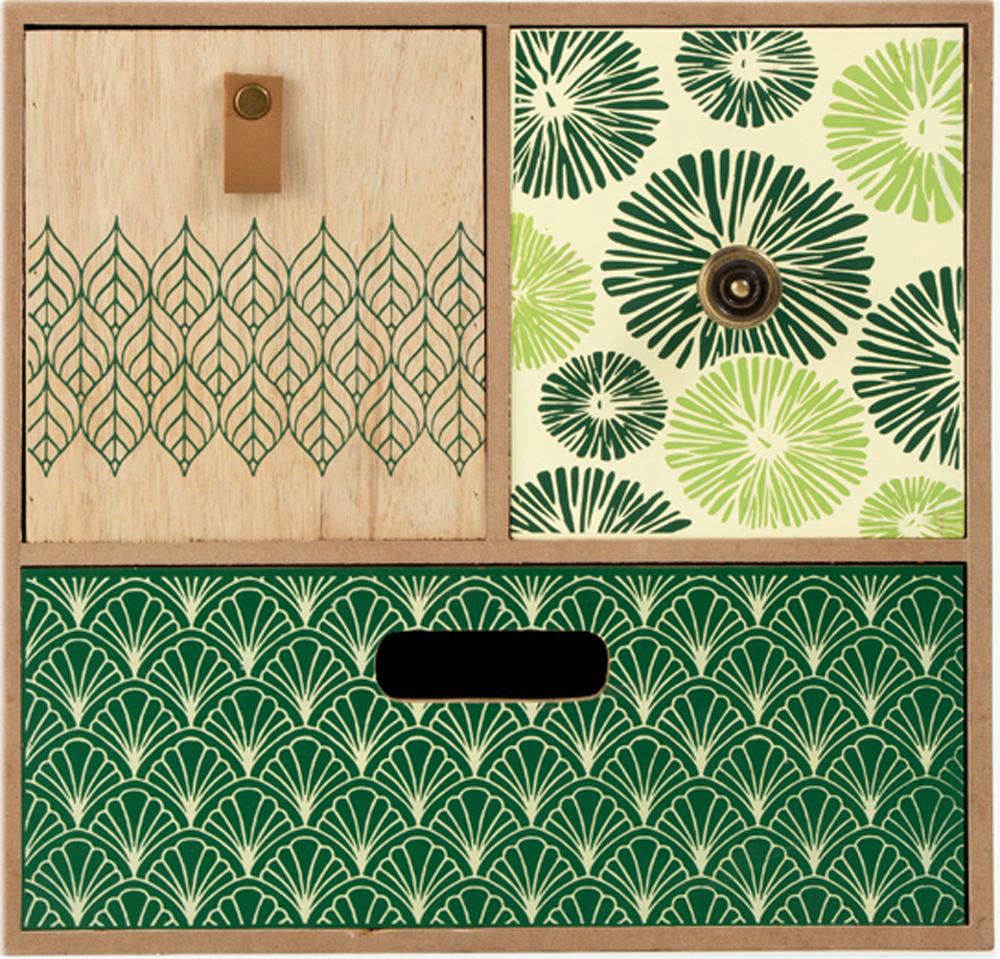 Шкатулка для хранения, цвет: зеленый, 26 х 25 х 11 см. 3860638606Шкатулка для ювелирных украшений является предметом женского обихода, предназначена не только для хранения драгоценностей и ювелирных украшений, но являются частью интерьера. Прекрасно подойдет в качестве подарка на любой праздник.